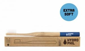 Sustainable Bamboo Toothbrush, extra soft, light blue