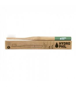 Sustainable Bamboo Toothbrush, medium, green