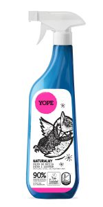 YOPE Natural Cleaner Spray for windows and mirrors 750 ml