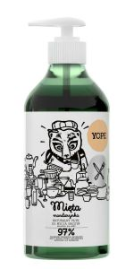 YOPE Mint & Mandarin Natural Washing-Up Liquid 750 ml