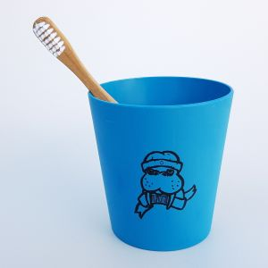 BLUE Kids Set - toothbrush and mug