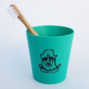 PIRATE Kids Set - toothbrush and mug