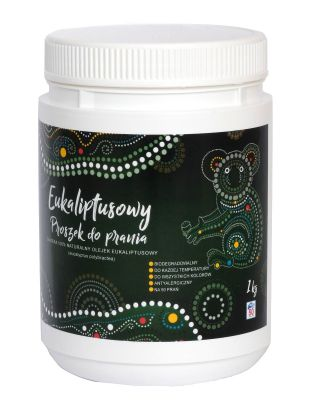 Eucalyptus Laundry Powder 1 kg