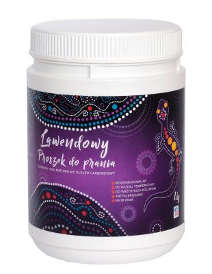 Lawendowy proszek do prania  1 kg